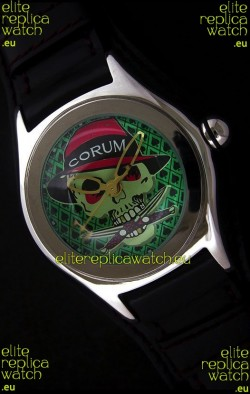 Corum New Edition Japanese Replica Watch in Green Dial