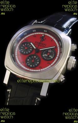 Ferrari Granturismo Swiss Replica Watch in Red Dial