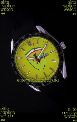 Ferrari Watches in Yellow Dial