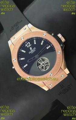 Hublot Big Bang Solo Bang Japanese Replica Rose Gold Watch