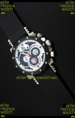 Jacob and Co. Manhattan Epic 2 Watch in White Dial