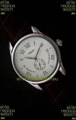 Mont Blanc Star Chrono Watch in White Dial
