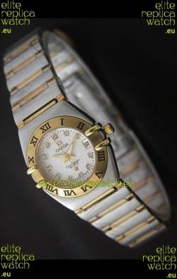 Omega Constellation Ladies Japanese Quartz Watch in Rose Gold