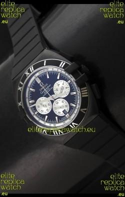 Omega Double Eagle Chronograph PVDBlack Watch