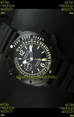 Panerai Luminor Submersible PAM193 Japanese Replica Watch Black Dial