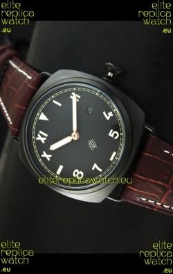 Panerai Radiomir California Edition Japanese Replica Watch in PVD Case