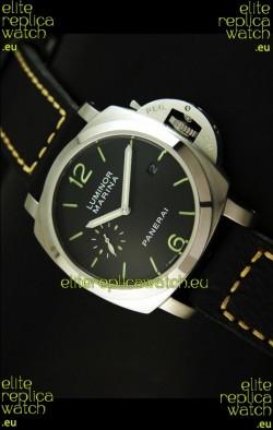 Panerai Luminor Marina 42MM Japanese Replica Watch Stainless Steel