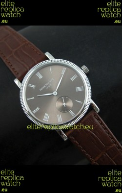 Patek Philippe Calatrava Japanese Manual Hand Wind Watch