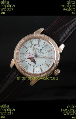 Patek Philippe Mens Grand Complications Japanese Watch in Rose Gold Casing