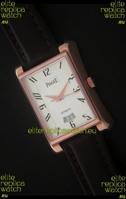 Piaget Tie Emperador Swiss Watch in White Dial