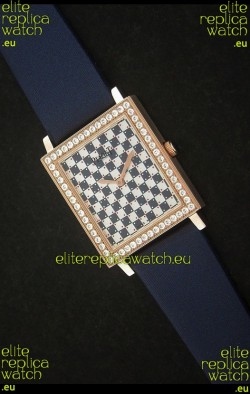 Piaget Black Tie Diamonds Lady Watch in Blue