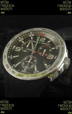 Porsche Design Flat Six P'6320 Japanese Watch in Grey