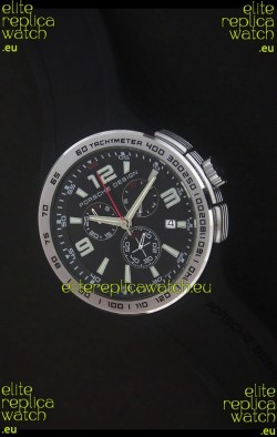 Porsche Design Flat Six P'6320 Japanese Watch in Black