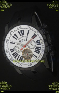 Roger Dubuis Excalibur Tourbillon PVD Japanese Watch