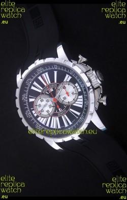 Roger Dubius Excalibur Chronoexcel Swiss Watch