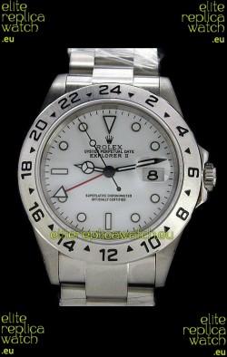 RolexExplorer II Swiss Replica Automatic Watch in White