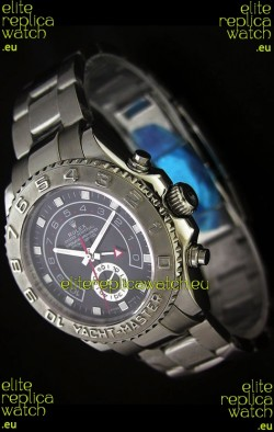 Rolex Yachtmaster II Swiss Replica Watch Black Dial