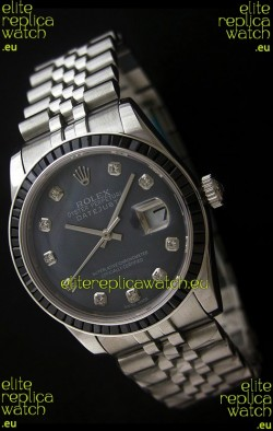 Rolex Datejust JapaneseReplica Automatic Watch in Grey Dial