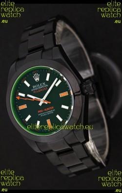 Rolex Pro-Hunter Milgauss Swiss Replica PVD Watch