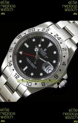 RolexExplorer II Swiss Replica Automatic Watch in Black Dial
