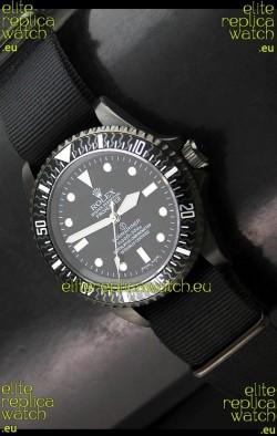 Rolex Pro Hunter Submariner Swiss Replica Watch in Carbon Bezel