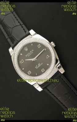 Rolex Cellini Japanese Replica Watch in Arabic Markers