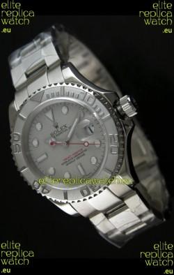 Rolex Replica Yachtmaster Swiss Watch with ORIGINAL ROLEX ROLESIUM DIAL