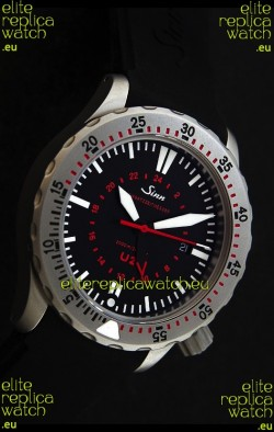 Sinn U2 EZM 5 Diver Swiss Watch in Titanium Casing