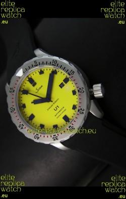 Sinn U1 Juweiler Roberto Limited Edition - 1:1 Mirror Replica Watch - Yellow Dial