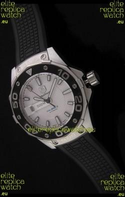 Tag Heuer Grand Carrera Caliber 5 Swiss Watch in White Dial