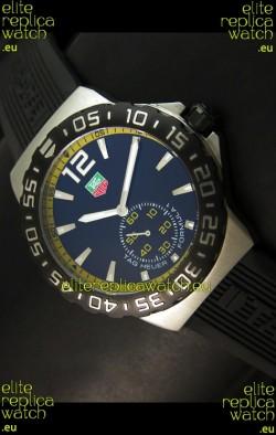 Tag Heuer Formula 1 Japanese Replica Watch in Quartz Movement - Yellow Dial Borders