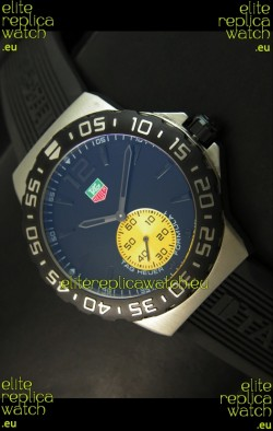 Tag Heuer Formula 1 Japanese Replica Watch in Quartz Movement - All Black Dial