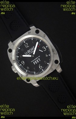 U-Boat Thousands of Feet Swiss Steel Automatic Watch