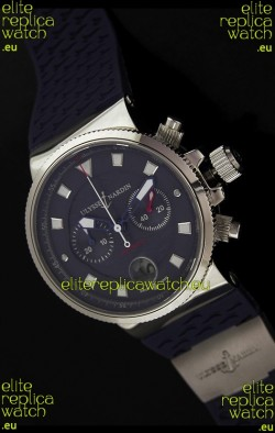 Ulysse Nardin Marine Blue Seal ChronographSwiss Watch