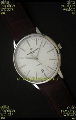 Vacheron Constantin Patrimony Japanese Watch in White Dial