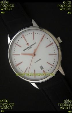 Vacheron Constantin Patrimony Japanese Watch in Steel