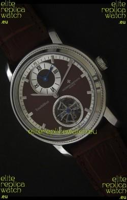 Vacheron Constantin Malte Tourbillon Japanese Watch in Brown Dial