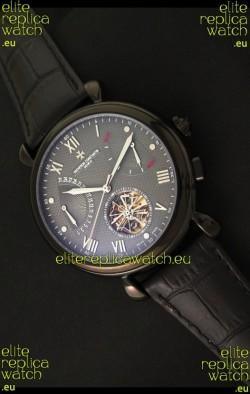 Vacheron Constantin Reserve Tourbillon Japanese Replica Watch in White Dial