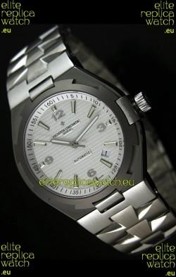 Vacheron Constantin Overseas Swiss Replica Watch - 1:1 Mirror Replica - White Dial