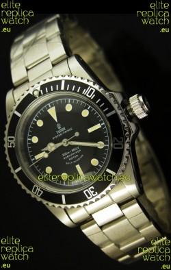 Tudor Submariner 5514 Vintage Style No Date Swiss Watch - 1:1 Ultimate Mirror Replica