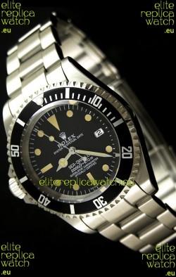 Rolex Vintage Sea Dweller Polizia Di Stato Left Hand Edtiion Swiss Watch