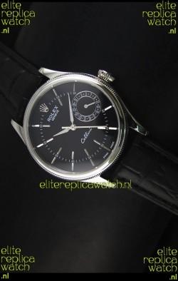 Rolex Cellini Date 50519 Swiss Replica Watch in Black Dial