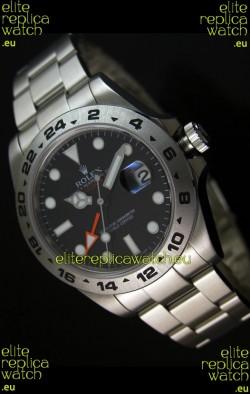 Rolex Replica Explorer II Swiss Replica Watch - SuperLuminous Hour Markers 42MM