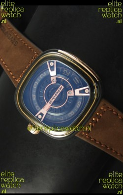 SevenFriday M2-2 in Black PVD Coated Casing - 1:1 Mirror Quality