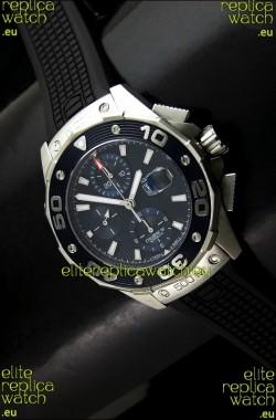 Tag Heuer Aquaracer Calibre 16Swiss Watch in Dark Blue Dial