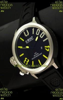 U Boat U-1001 Edition Japanese Drive Automatic Steel Watch