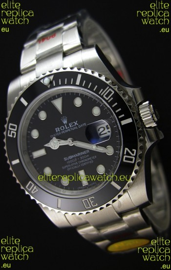 Rolex Submariner Ref#116610 ETA3135 Replica 1:1 Mirror - Ultimate 904L Steel Watch