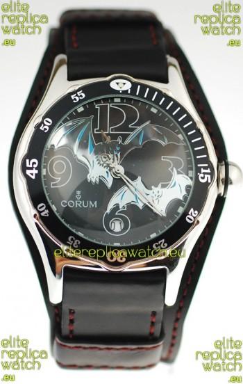 Corum Bubble Dive Bats Edition Black Watch