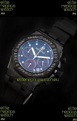 Audemars Piguet Royal Oak Offshore Lady Alinghi Swiss Watch in Blue Dial