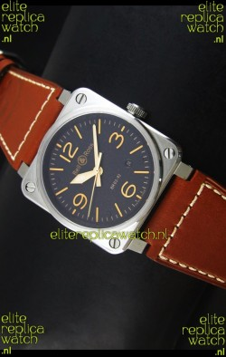 Bell & Ross Aviation BR03-92 Golden Heritage Edition Swiss Watch